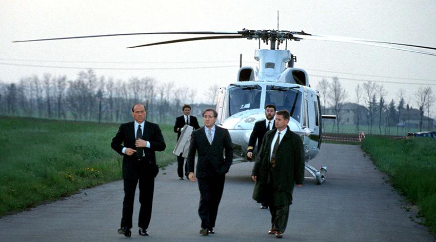 dellutri berlusconi helicopter economic imago