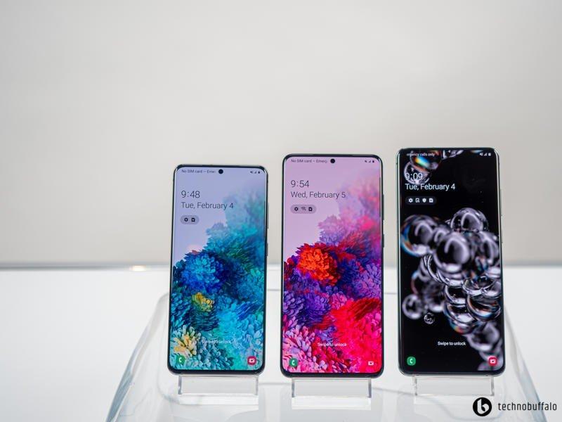 Samsung Galaxy S20 Series All Three