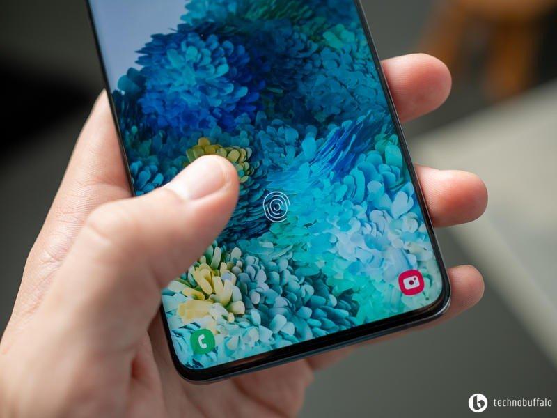 Galaxy S20 Plus Fingerprint Sensor
