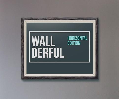 Wallderful Horizontal Frames MockUps