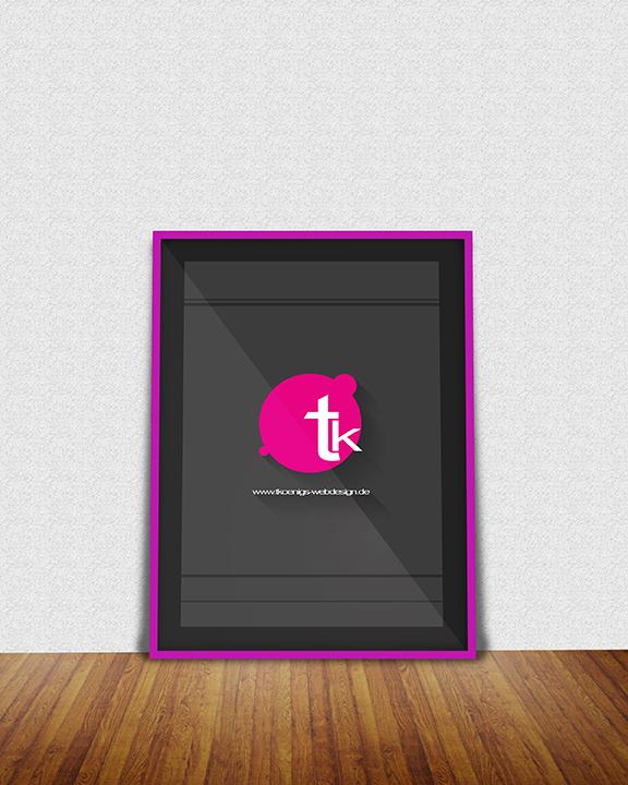 Free Poster Frame Mockup