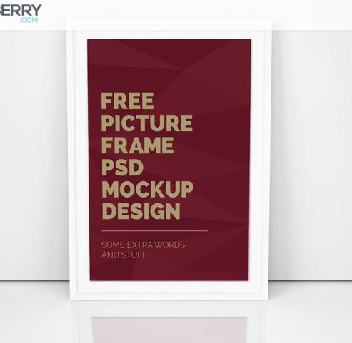 Artwork Frame PSD Mockup Vol5