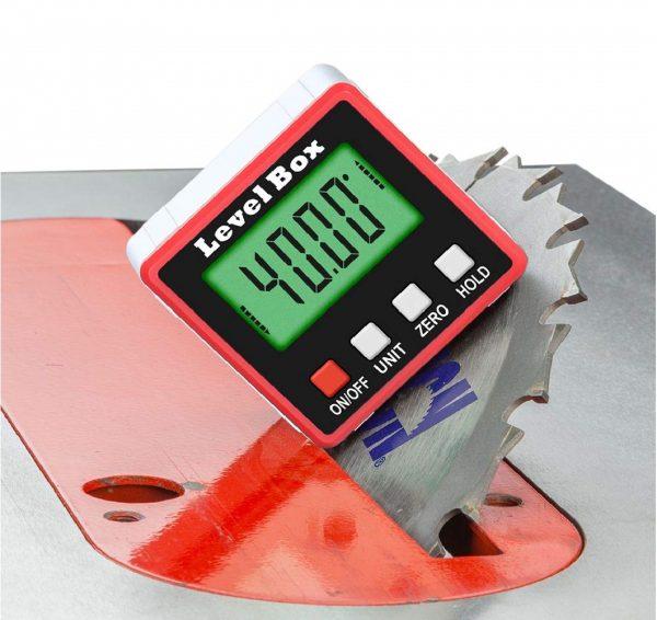 9.Digital Angle Finder Gauge Magnetic Protractor