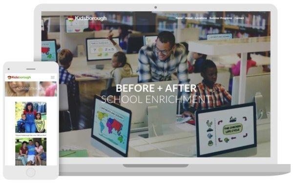 Kidsborough Gets a Website Makeover