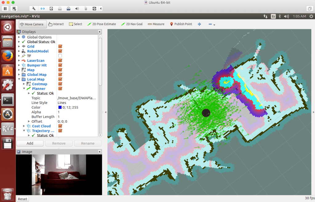 Navigating the Deep Learning Robot
