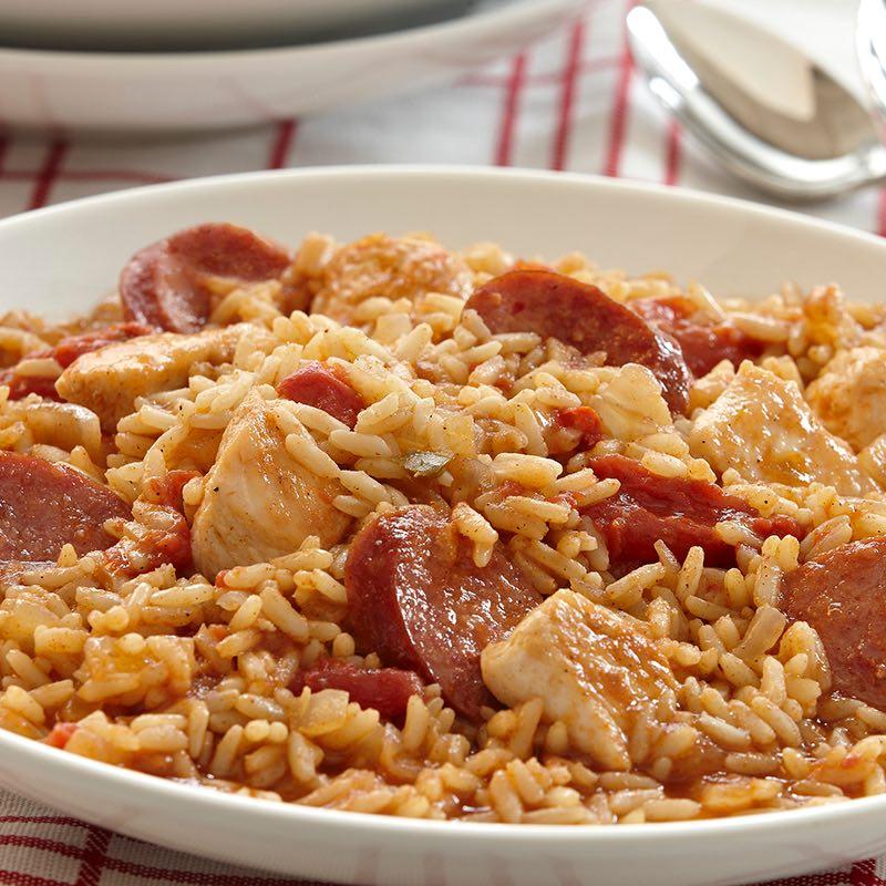 Jambalaya with Chicken and Sausage