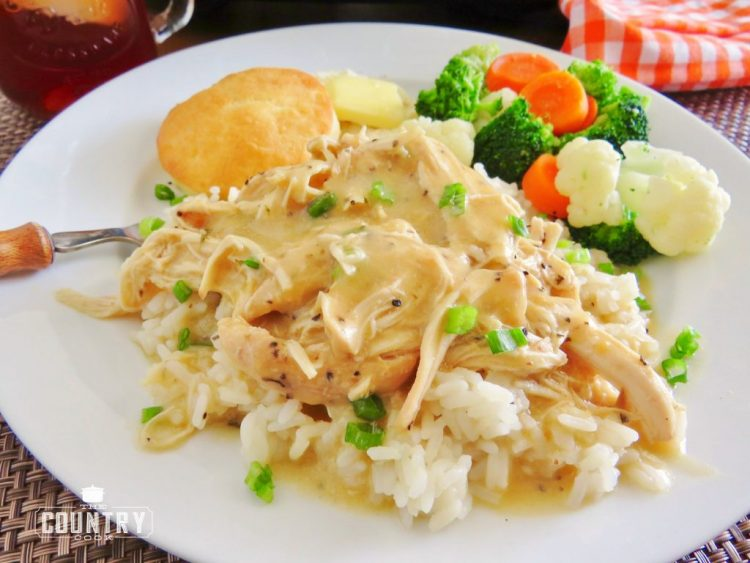 Crockpot Chicken & Gravy