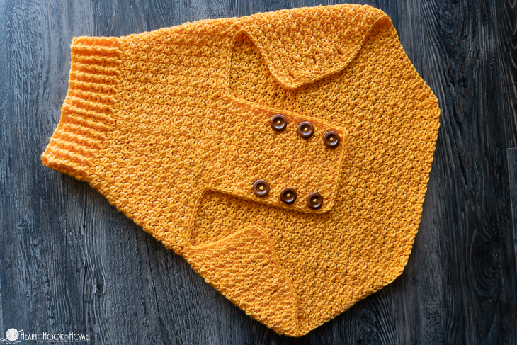 extra large dog sweater pattern