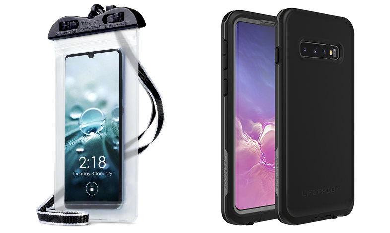 Waterproof phone case phones