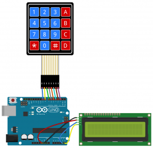 How to Set Up a Keypad on an Arduino - I2C LCD Output Wiring Diagram