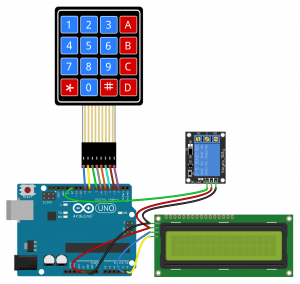 Arduino Keypad Tutorial - Password Controlled 5V Relay