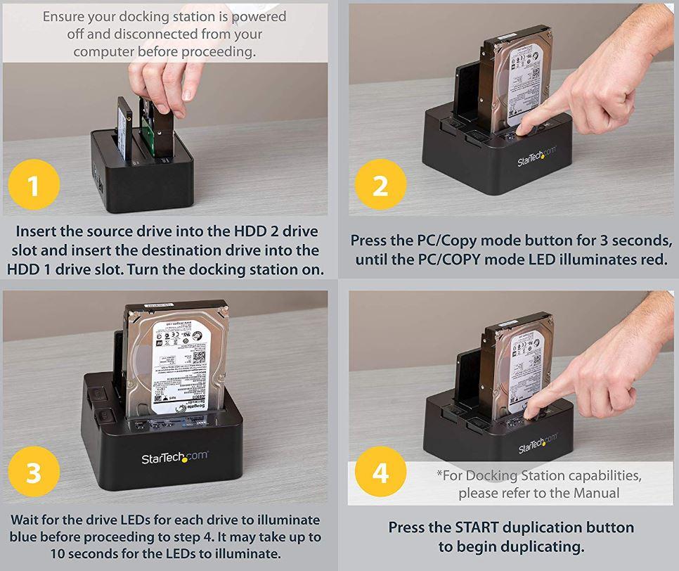 StarTech USB-C-Hard-Drive-Duplicator