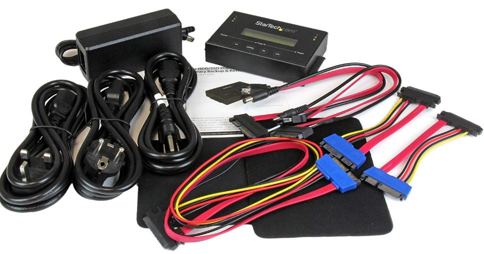 StarTech Standalone SATA Hard Drive Duplicator
