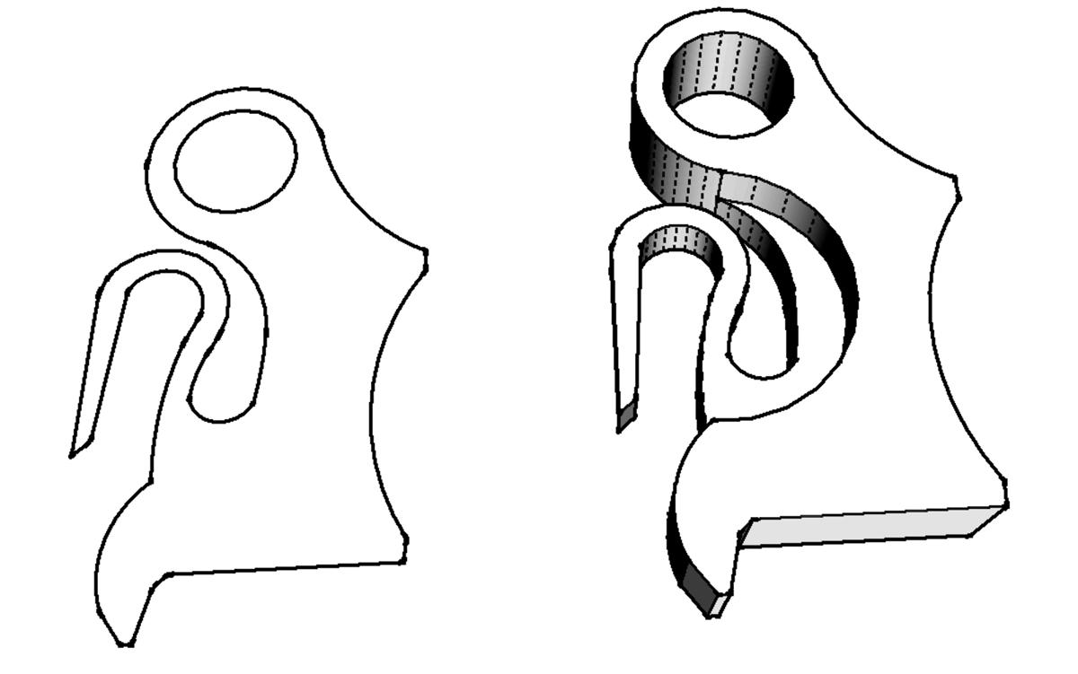 Chainsaw trigger - design