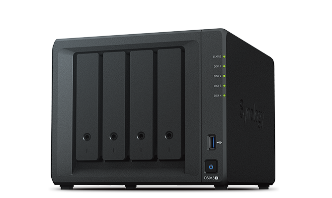 Synology DS918+ media server for Plex