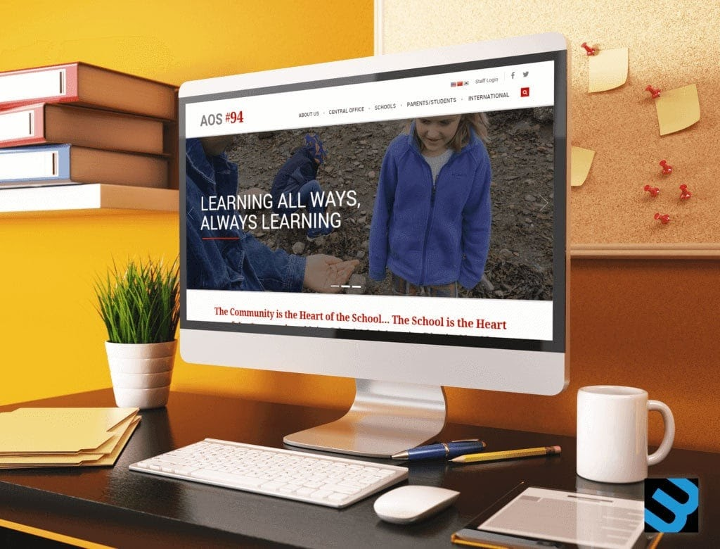 Aos Education Website