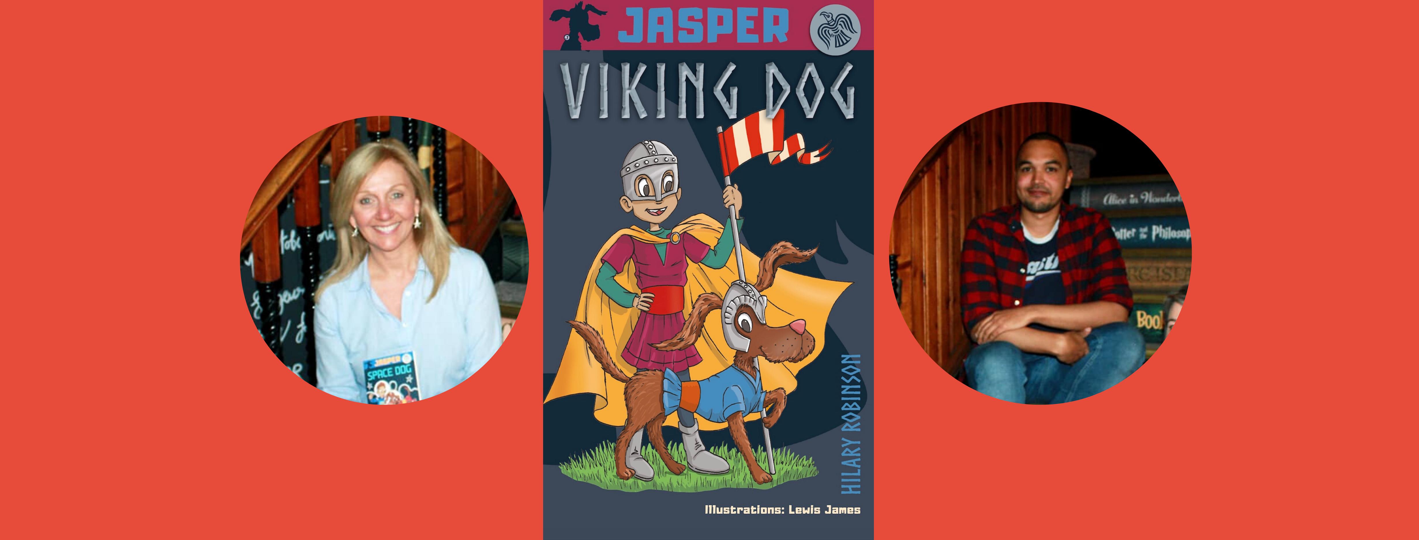 Jasper: Viking Dog Book Launch