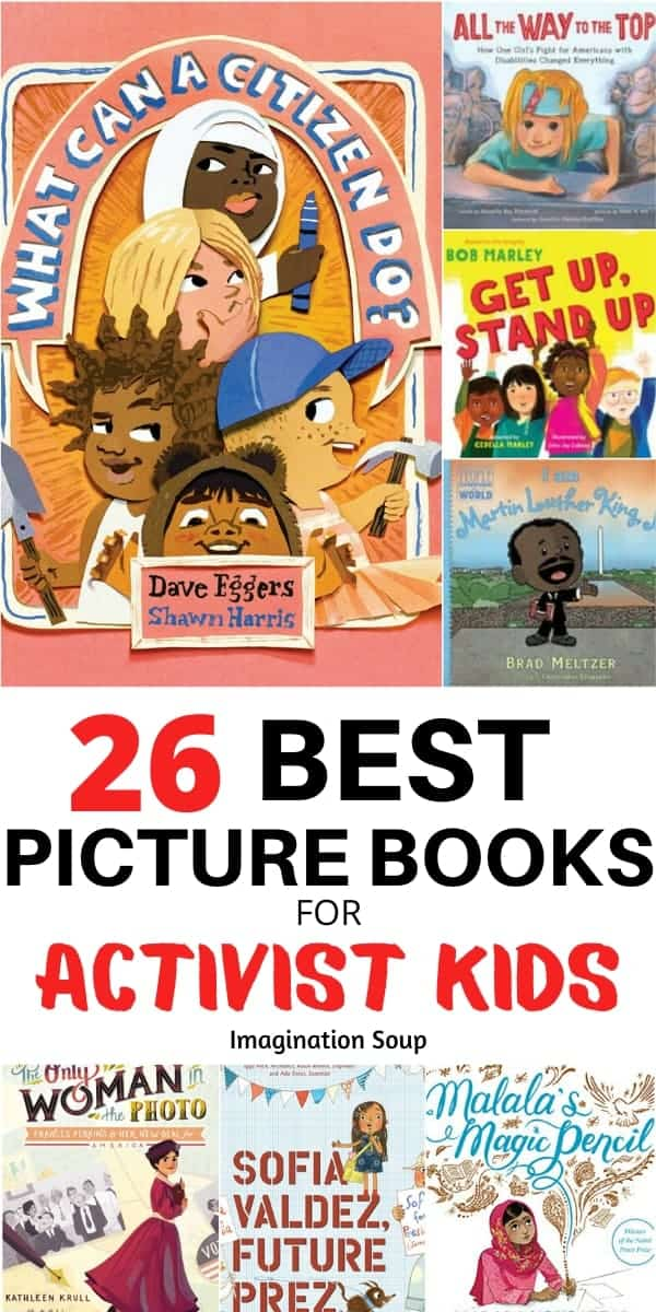 26 best books for activists kids