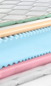 memory foam construction plays into how well a bed ranks