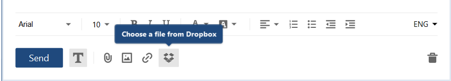 Efficiency tools. Dropbox integration.