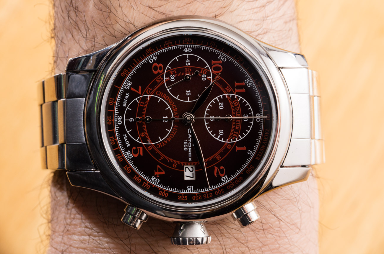 Catorex Krono Classic 42 Smoked Red Dial Watch Review Reviews