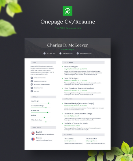 onepage-free-cv-resume-template