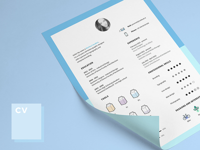 Cv and Icons for Free