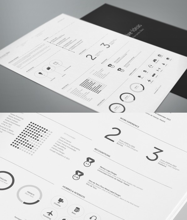 FREE Resume Template by Fernando Báez