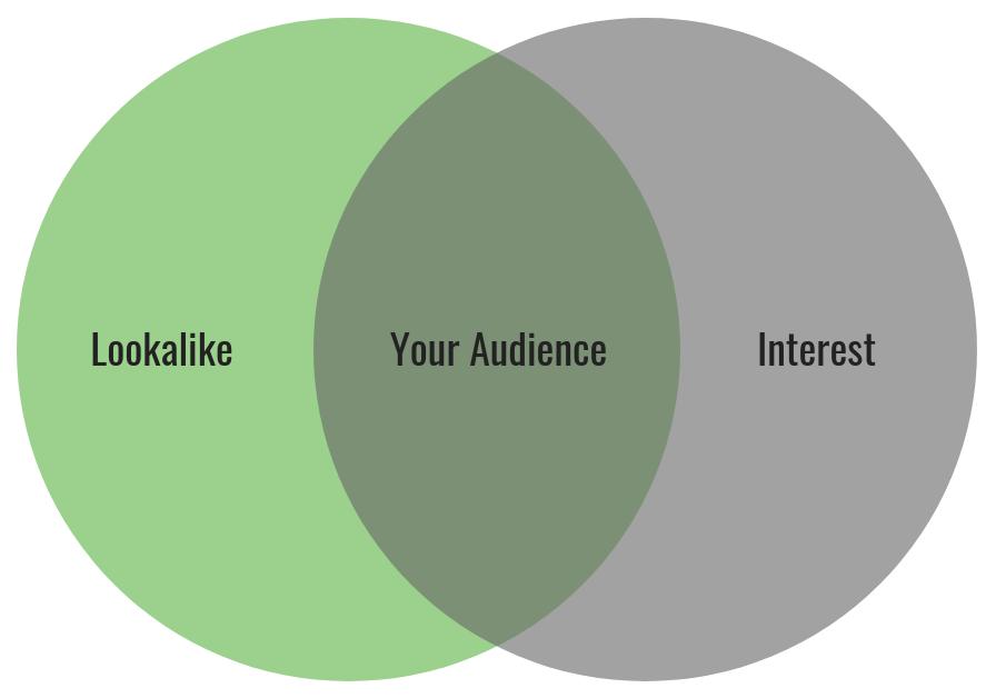 Facebook Lookalike and Interest Audiences