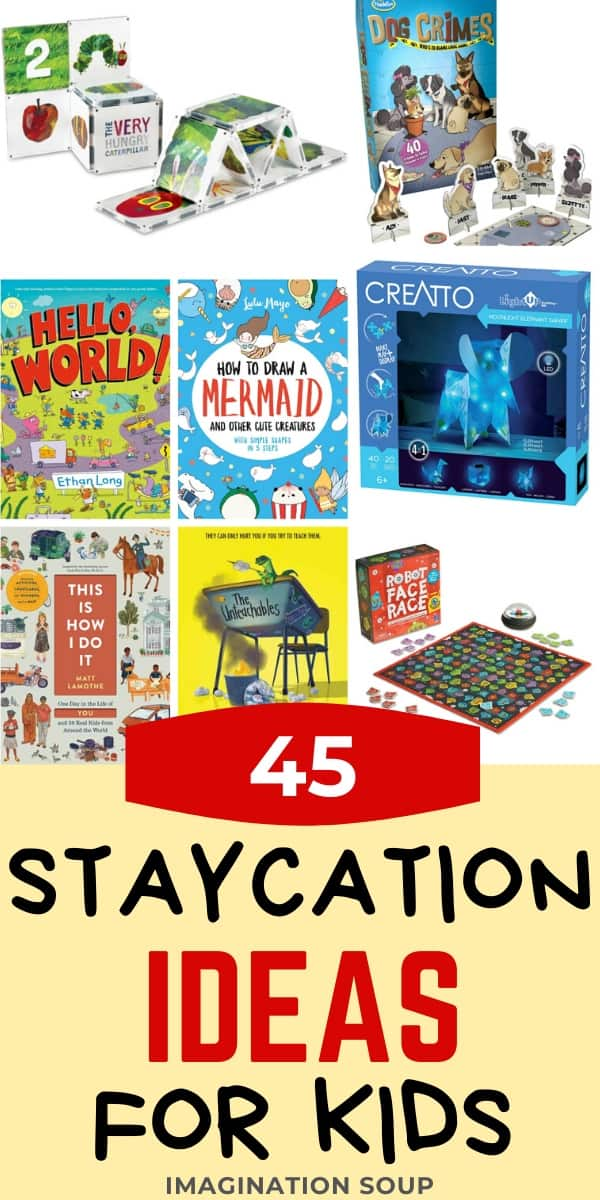 45 fun at home staycation spring break ideas for kids
