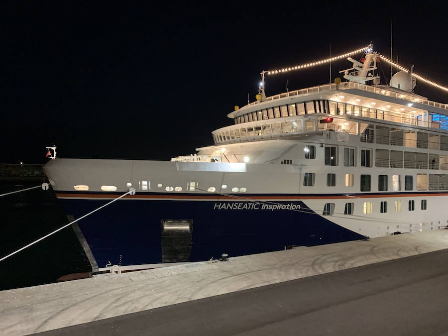 the Hanseatic Inspiration Cruise Ship