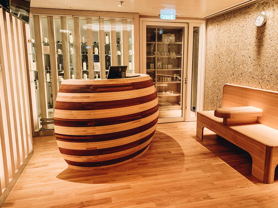 Spa on the Hanseatic Inspiration Cruise Ship