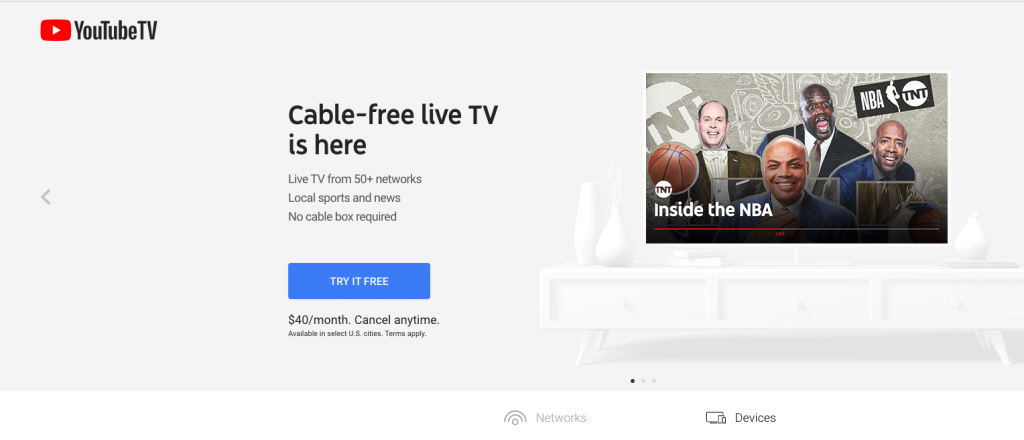 youtube tv cord-cutting watch espn live without cable alternatives