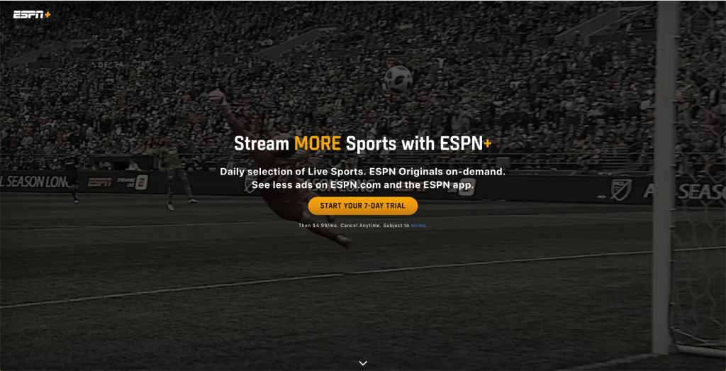 watch espn without cable espn plus