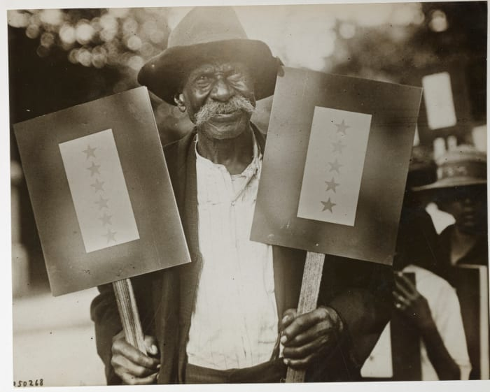 Ike Sims of Atlanta, Georgia, had eleven sons serving in World War I.