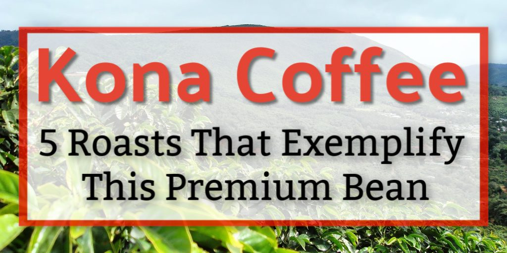 Real Kona coffee is a delightful sensory experience. These 5 brands exemplify the best this Hawaiian region has to offer.