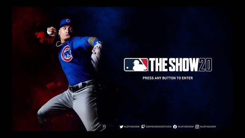 Mlb The Show 20 Title Screen