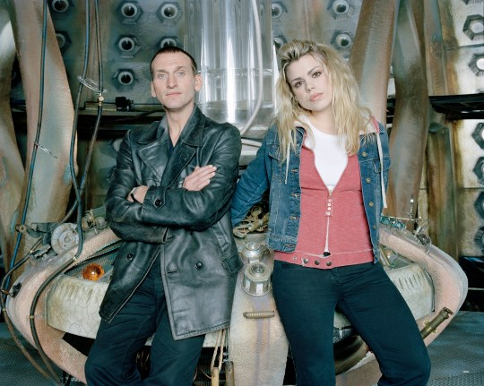 Doctor Who are Christopher Ecclestone and Rose?