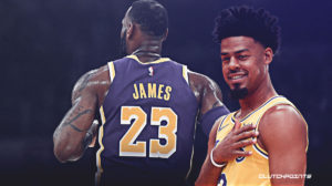 Lakers, Quinn chefs, Lebron James.