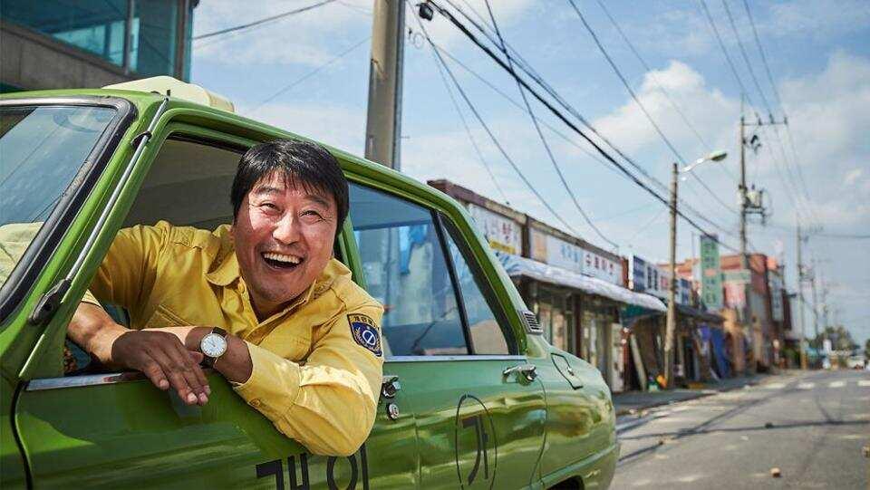 The stars of taxi driver Song Kang Ho (Papa Kim the Parasite).