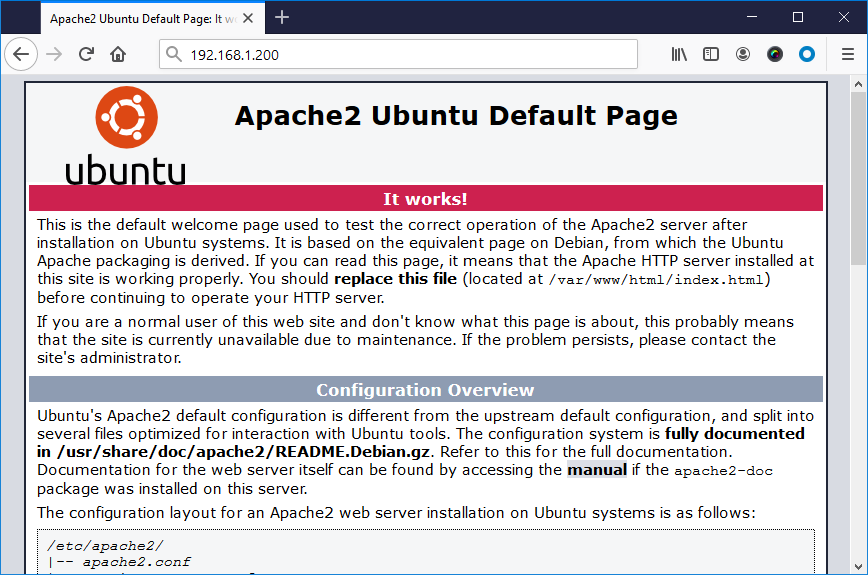 How to Secure and Install Apache on Ubuntu 20.04 – TecAdmin
