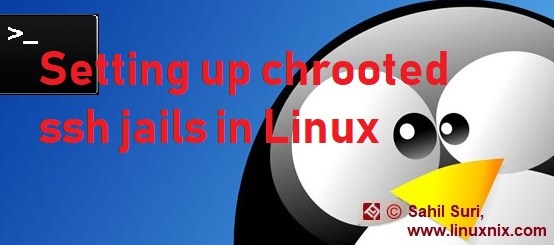 Setting up chrooted ssh jails for Linux