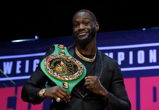 Deontey Wilder is looking for the WBC Heavyweight title in his third fight against Tyson Fury.