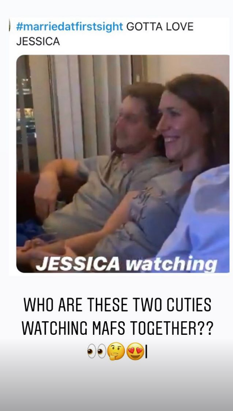 Jessica and Austin, MAFS, are married at first sight.