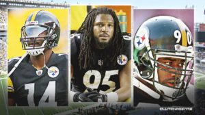 Limas Sweed, Jarvis Jones, Huey Richardson, Stainers Drafts Boots.