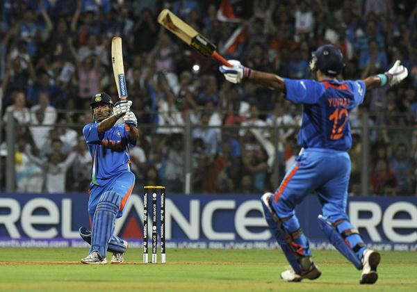 MS Dhoni World Cup six