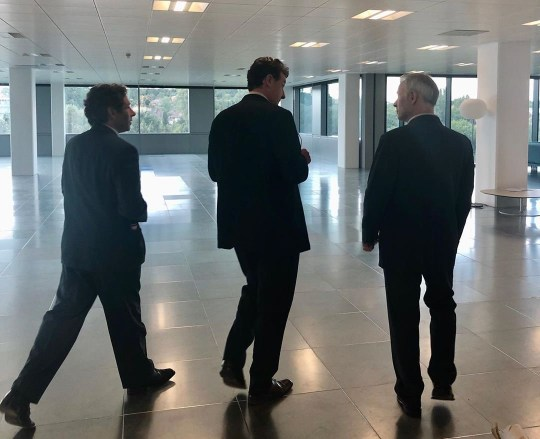 Quiz star Aisling B shows funny backstage shots.