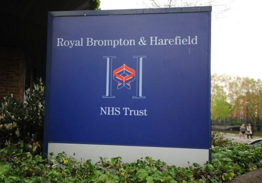 Royal Brompton and Harfield Hospital NHS Trust, Chelsea, London.