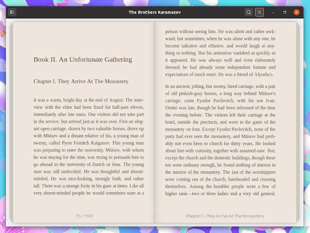 Linux Foliate GTK eBook Reader 2.0 Released with a plethora of changes
