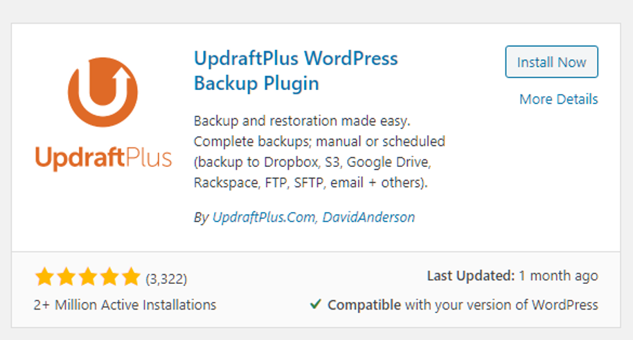 How to backup your WordPress site for beginners